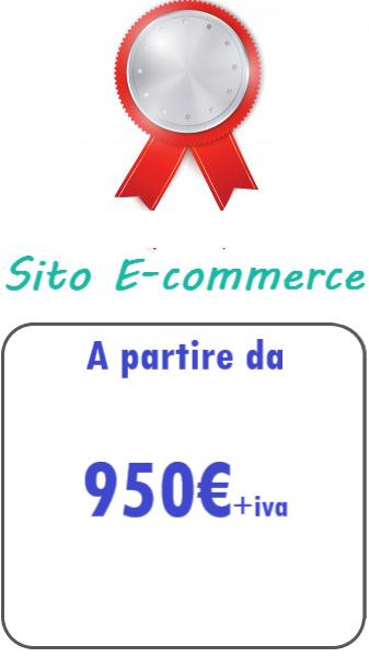 Preventivo sito web ecommerce